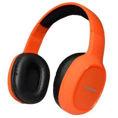Photo of TOSHIBA New Over the Ear BT Headset - Orange