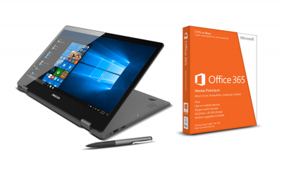 Photo of Mecer FUNDI Notebook PLUS Microsoft Office 365 Home 2019