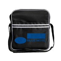 blue note striped messenger bag parallel import gaming merchandise