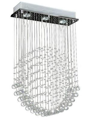 Photo of Nevenoe Crystal Chandelier Pendant Lamp Lighting - C052