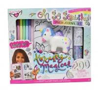 Design Kits Oh So Squishy Smash Journal Set Unicorn