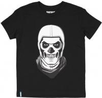 Fortnite Skull Trooper Teen Tee Black