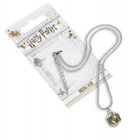 harry potter hufflepuff crest slider necklace parallel jewellery set