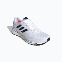adidas mens adizero adios 4 running shoes white shoe