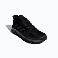 adidas mens kanadia trail running shoes blackgrey shoe
