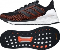 adidas mens solar boost st 19 running shoes blackorange shoe