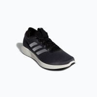 adidas mens edge flex running shoes blackwhite shoe