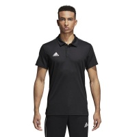 adidas Mens Core18 Climalite Polo