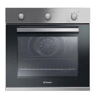 candy fcp602x 60cm 65l multifunction electric inox oven