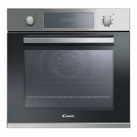 candy fcp605x maxi 60cm 65l multifunction electric inox oven