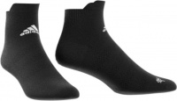 adidas alphaskin ankle ultralight training socks black woman sock