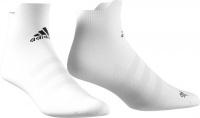 adidas alphaskin ankle maximum cushioning socks white woman sock