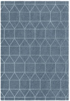 rugs original chill blue circular design patio furniture