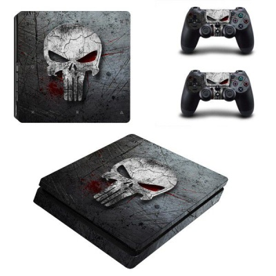 Photo of SKIN-NIT Decal Skin For PS4 Slim: The Punisher 2019