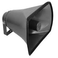 horn speaker aluminium 11 x 7 25w 8 ohm pa system