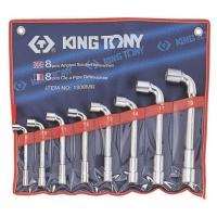 King Tony Socket Angle Wrench Set 8 19MM
