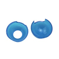 crystal case for nintendo switch pokeball transparent blue case