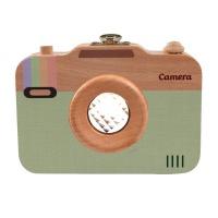 creative camera shape baby tooth keepsake box decor