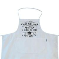 mugnolia made with love apron