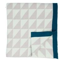 triangle geometric blanket mint blanket