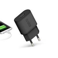 SBS 1000 mAh Travel Charger With 1 USB Port