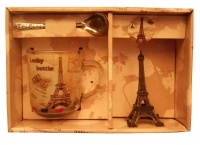 Gift Box Eiffel Tower Cup Spoon