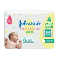 johnsons baby cotton touch wipes 288s wipe