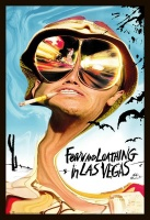 fear and loathing in las vegas poster frame gaming merchandise