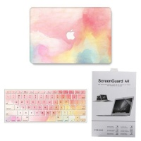 combo macbook 13 air 2018 a1932 watercolour tablet accessory