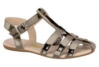 molekinha sandal pewter shoe