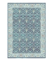 prime persian zenith tribal floral blue patio furniture