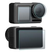 sunnylife 3 in 1 25d tempered glass lens film for dji osmo