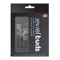 cat jewel headphones earphone