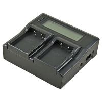 jupio dedicated duo charger for fuji np t125 camera accessory