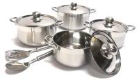 10 piece cookware hob