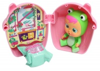 cry babies magic tears bottle house pink dollhouse doll