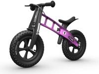firstbike fatbike pink balance bike neck brace