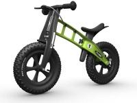 firstbike fatbike green balance bike neck brace