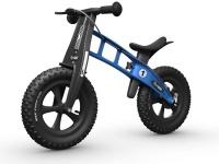 firstbike fatbike light blue balance bike neck brace
