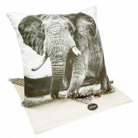 scatter cushion cover elephant 40 x 40cm cushion
