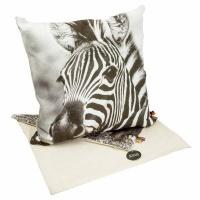 scatter cushion cover zebra 40 x 40cm cushion