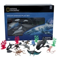 National Geographic Ocean Life Playset 10 Pieces