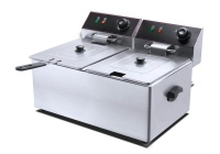 conic 22l commercial grade stainless steel electric fryer