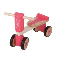 bigjigs ride on wooden toddler trike neck brace