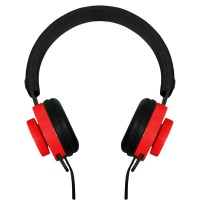 Rocka Switch Series Aux Headphones BlackRed