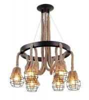 mr universal lighting rope light chandelier 6318 6 home decor