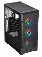 corsair graphite series 220t rgb black atx case case
