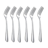 6 piece fork eating set cutlery