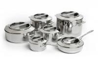 Capri 12 Piece Europa Cuisine Cookware Set 1810 Stainless Steel