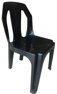 Photo of 4x Plastic Chairs With Non-Slip Pads